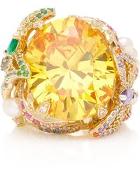 Anabela Chan | Citrine Swallowtail Ring | Lyst