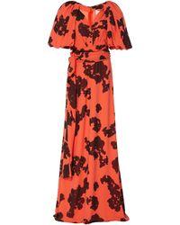 Hellessy Indya Printed Maxi Dress - Orange
