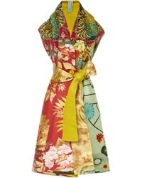 Rianna + Nina - M'o Exclusive Printed Silk Stole - Lyst