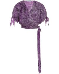 Art Dealer Jane Top - Purple
