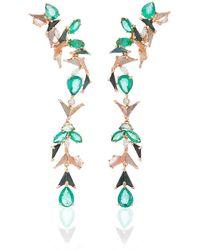 Nak Armstrong Fauna Earrings - Green