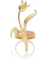 Rodarte Gold Expandable Tulip Bracelet - Metallic