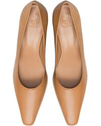 Flattered Iggy Leather Court Shoes - Brown