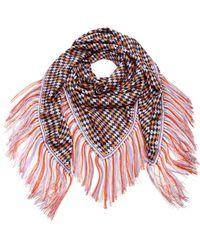 Gabriela Hearst Fringed Floral-print Silk Twill Scarf - Multicolor