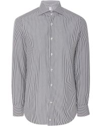 Eidos - University Striped Button-up Shirt - Lyst