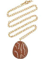 CVC Stones Devilish 18k Gold, Diamond And Stone Necklace - Multicolour