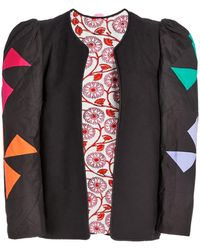 Alix Of Bohemia Edie Quilted Cotton Jacket - Black