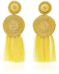 Johanna Ortiz - M'o Exclusive The Agdal Fringe Earrings - Lyst