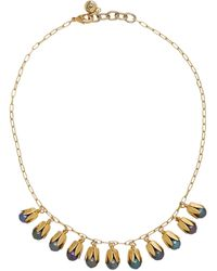 Lulu Frost Clairvoyant Gold-plated Faux Pearl Necklace - Metallic