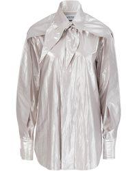 Maticevski Incitement Shirt - Metallic