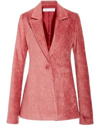 Marina Moscone - Irving Tailored Corduroy Blazer - Lyst