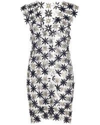 Paco Rabanne - Chainmail Stars Mini Dress - Lyst