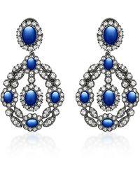 Anabela Chan Exclusive Treasure Sapphire Earrings - Blue
