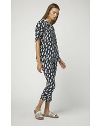Marni Printed Silk Pajama Pants - Multicolor