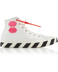 Off-White c/o Virgil Abloh - Vulc High Top Trainers - Lyst