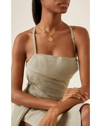 Ben-Amun Gold-plated Coin Necklace - Metallic