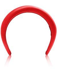 Prada - Satin Silk Headband - Lyst