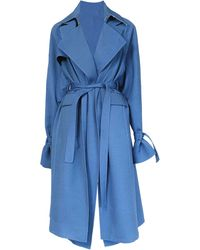 Peter Do - Everyday Layered Wool-blend Trench Coat - Lyst