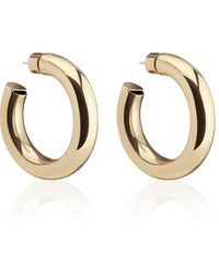 Jennifer Fisher Mini Jamma Gold-plated Hoop Earrings - Metallic
