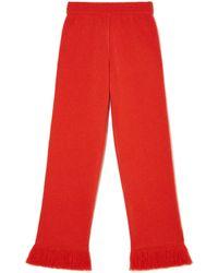 Alanui Cordillera Flared Virgin Wool Trousers