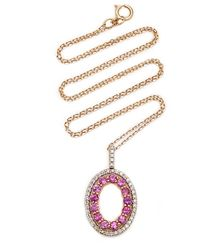 Mateo Gold And Pink Sapphire Necklace
