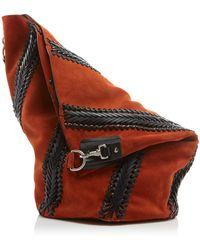 Proenza Schouler - Suede Hex Bucket Backpack - Lyst