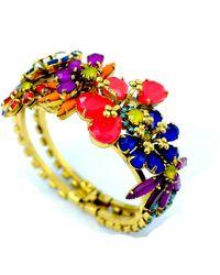 Elizabeth Cole Bettina Bracelet - Multicolor