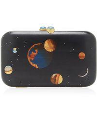 Silvia Furmanovich - Galaxy Embellished Wood Clutch - Lyst