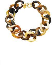 Ashley Pittman - Safu Mixed Horn Necklace - Lyst