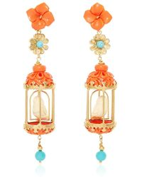 Of Rare Origin | Coral Aviary Classic Earring | Lyst