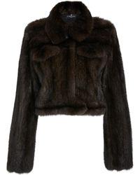 J. Mendel Sable Fur Jacket - Brown
