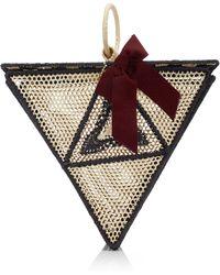 Sensi Studio - El Triangulo Straw Handbag - Lyst