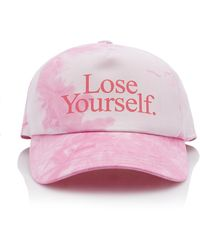 Paco Rabanne Lose Yourself Tie-dyed Cotton Cap - Pink