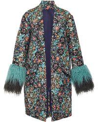 Anna Sui - Floral Vines Metallic Jacket - Lyst