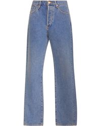 Goldsign Benefit High-rise Straight-leg Jeans - Blue