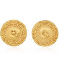 CANO Moneda 24k Gold-plated Earrings - Metallic