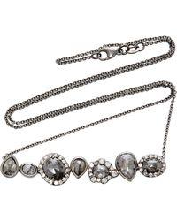 Kimberly Mcdonald - Rhodium-plated 18k White Gold Diamond Necklace - Lyst