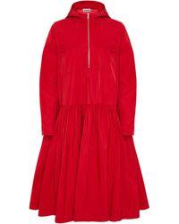 Molly Goddard Judd Oversized Tiered Coat