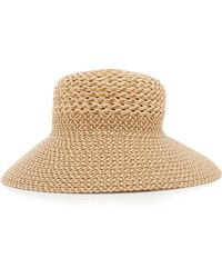 Eric Javits - Trophy Gal Woven Hat - Lyst
