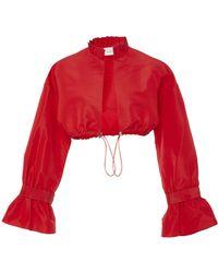 Sachin & Babi - Manzu Silk Taffeta Jacket - Lyst