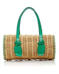PAMELA MUNSON The Agatha Baby Bag - Green