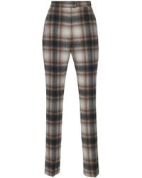 Martin Grant | High Waisted Straight Cut Suit Trousers | Lyst