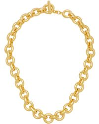 Ben-Amun - Gold-plated Necklace - Lyst