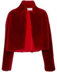 16Arlington - Cropped Sheepskin Jacket - Lyst