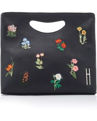 Hayward - 1712 Embroidered Leather Basket Bag - Lyst