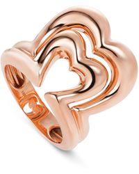 Nevernot 18k Rose Gold Ready 2 Burst Ring - Metallic