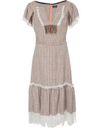 Frederick Anderson - Multicolor Tweed Dress - Lyst