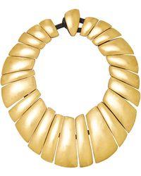 Monies Gold Necklace - Metallic