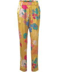 Stine Goya - Rays Floral Skinny Pant - Lyst
