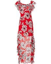 Marissa Webb - Sofia Print Dress - Lyst